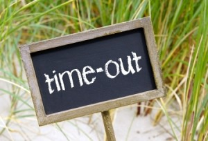 vakantie time out